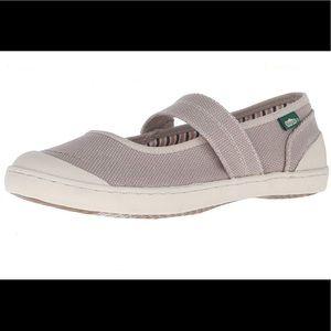 Simple Cactus canvas sneakers tennis walking shoes